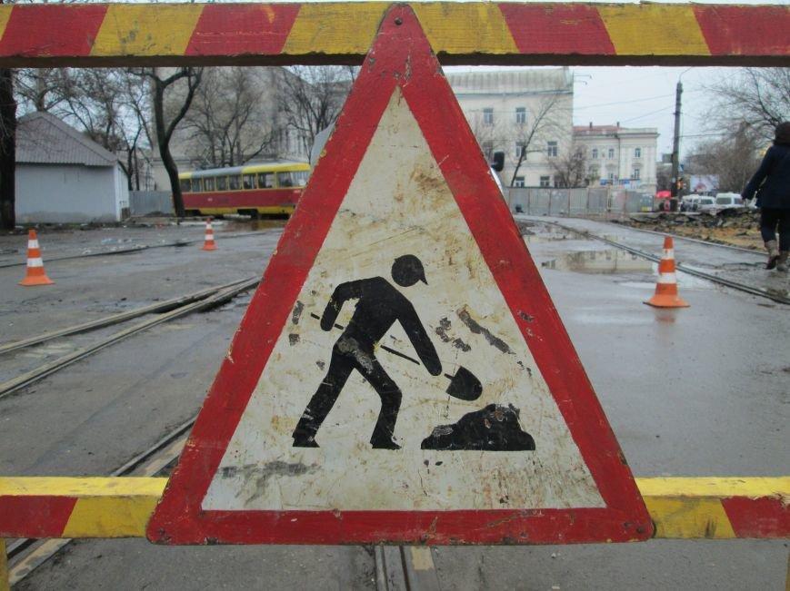51605ca0de0e27dbedb1df8dd219a2a2 Ломать не строить: Старосенную площадь в Одессе перекопали совсем