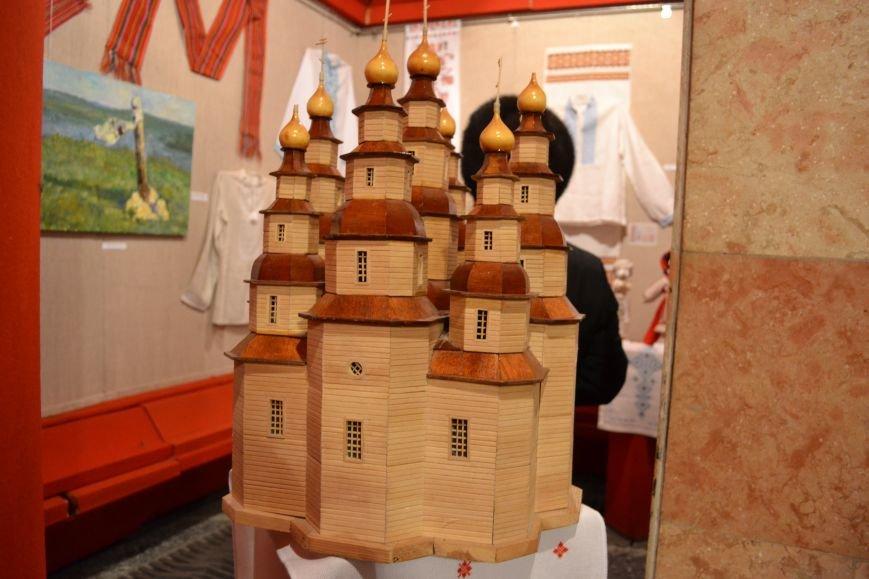 В Музее истории Днепродзержинска открылась выставка украинской вышивки, фото-22