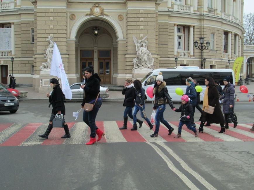 Одесситки выступили против насилия (ФОТО, ВИДЕО) (фото) - фото 1