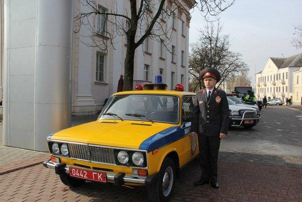 В Гродно накануне Дня белорусской милиции прошел парад (фоторепортаж) (фото) - фото 12