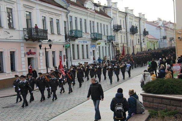 В Гродно накануне Дня белорусской милиции прошел парад (фоторепортаж) (фото) - фото 5