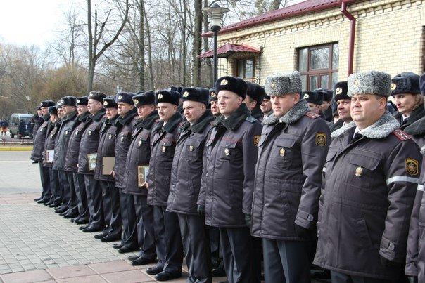 В Гродно накануне Дня белорусской милиции прошел парад (фоторепортаж) (фото) - фото 6