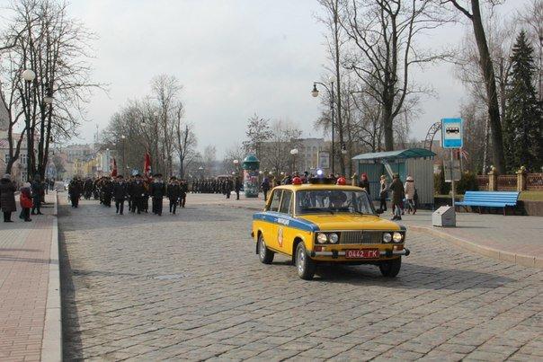 В Гродно накануне Дня белорусской милиции прошел парад (фоторепортаж) (фото) - фото 15