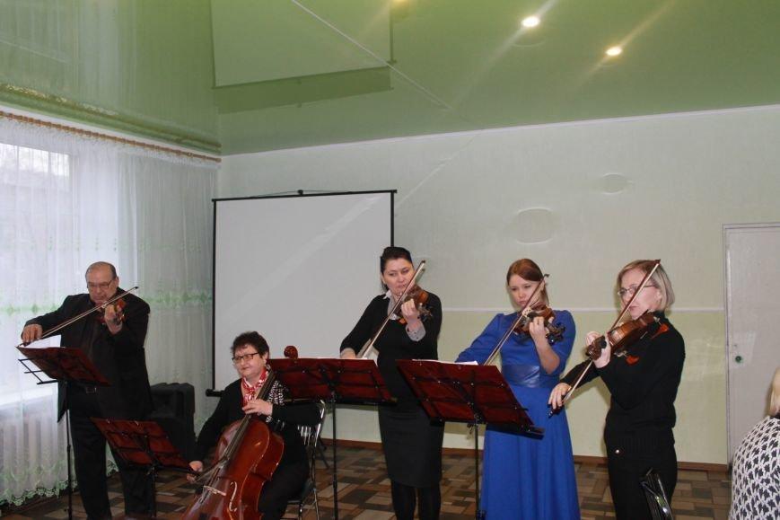 В Добропольской музыкальной школе состоялось открытие восстановленного актового зала, фото-25