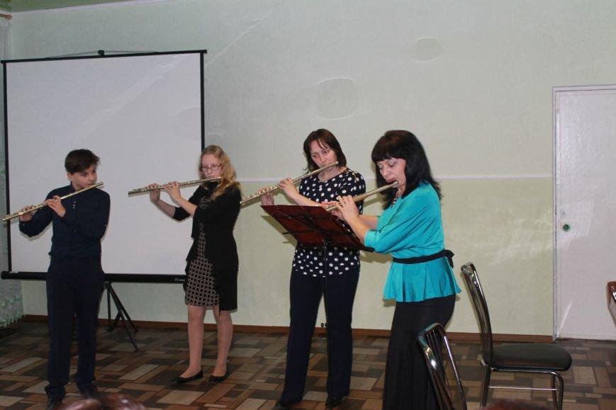 В Добропольской музыкальной школе состоялось открытие восстановленного актового зала, фото-23