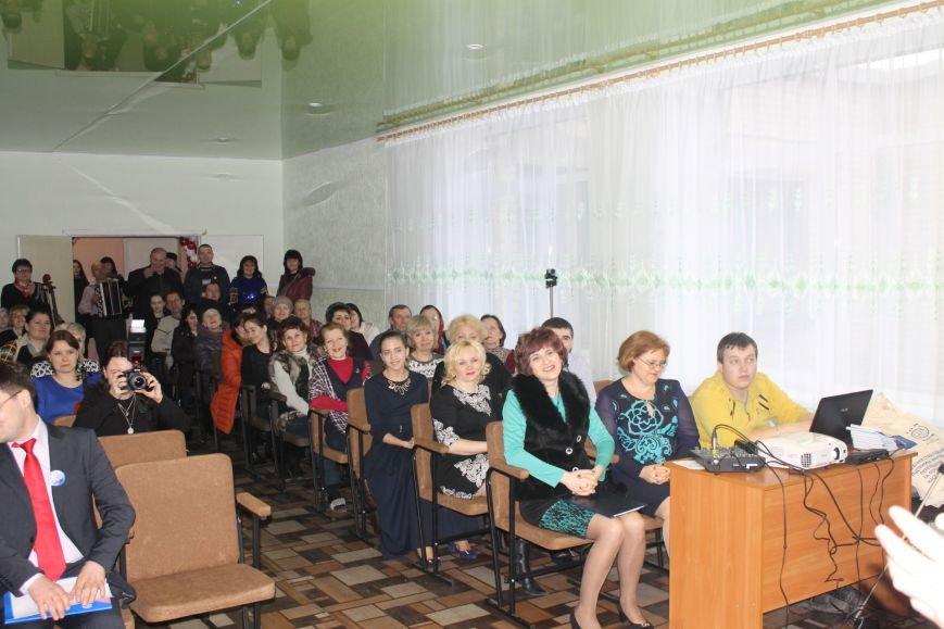 В Добропольской музыкальной школе состоялось открытие восстановленного актового зала, фото-13