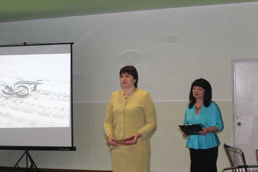 В Добропольской музыкальной школе состоялось открытие восстановленного актового зала, фото-16
