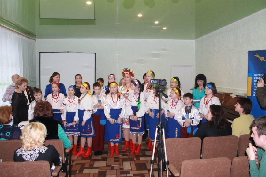 В Добропольской музыкальной школе состоялось открытие восстановленного актового зала, фото-27