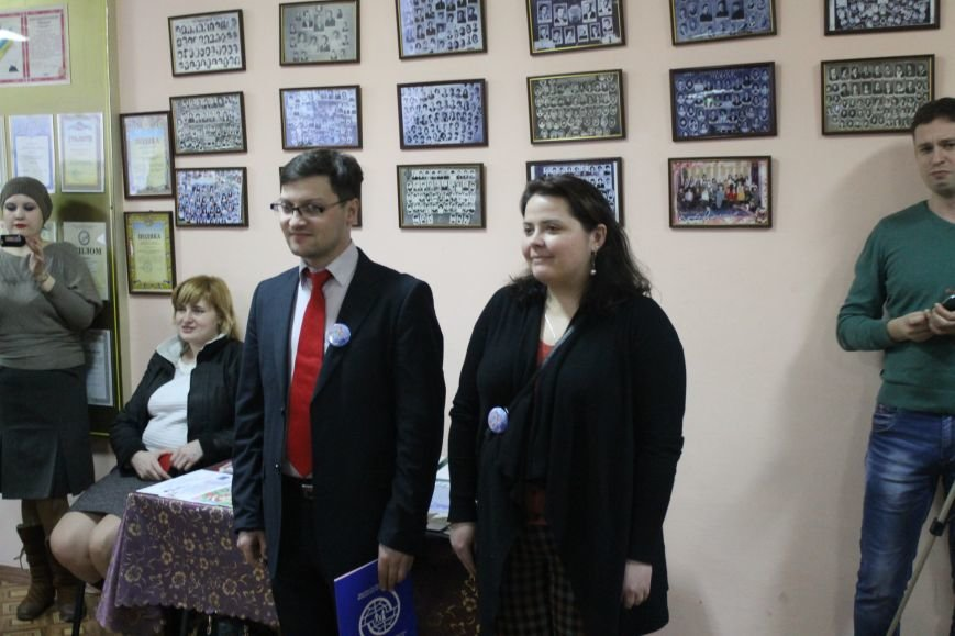 В Добропольской музыкальной школе состоялось открытие восстановленного актового зала, фото-3