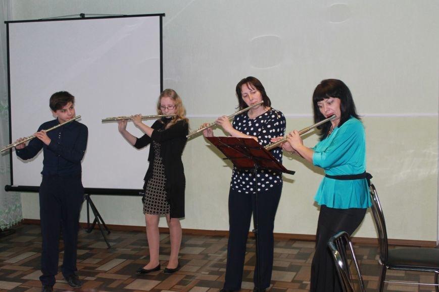 В Добропольской музыкальной школе состоялось открытие восстановленного актового зала, фото-24