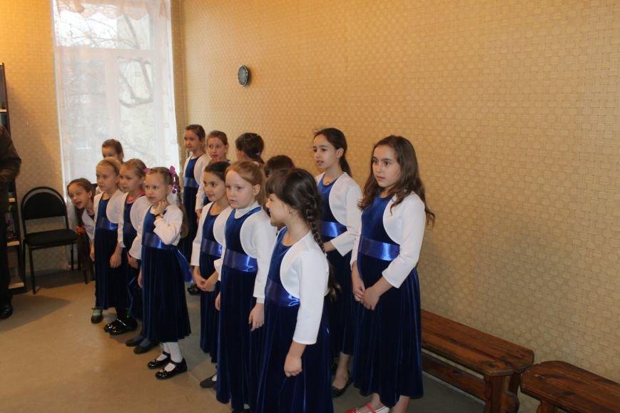 В Добропольской музыкальной школе состоялось открытие восстановленного актового зала, фото-10
