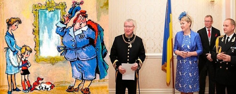 Макеевчане, а вы видели? В соцсетях обсуждают шокирующий наряд посла Украины в Великобритании (фото) - фото 3