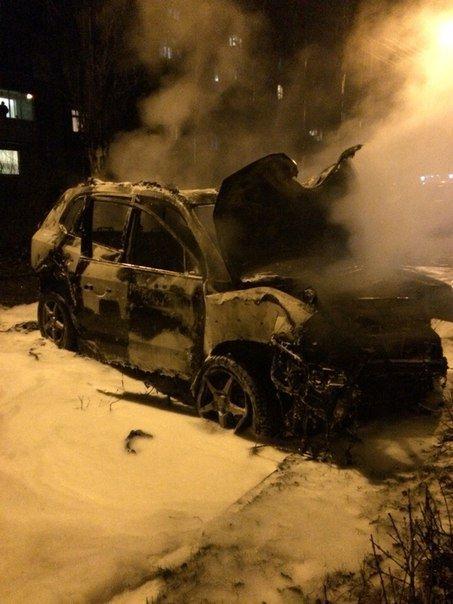 В Кривом Роге на ходу загорелся внедорожник (ФОТО), фото-7