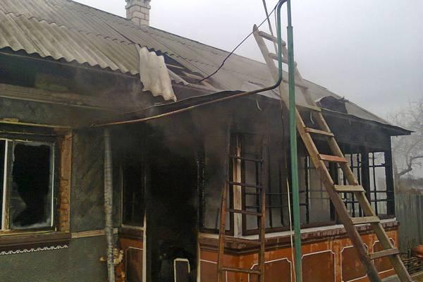 На Тернопільщині МНСники рятували житлові будинки від вогню (фото) (фото) - фото 1