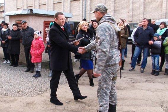 У Івано-Франківську зустріли правоохоронців, які повернулися із зони АТО (ФОТО) (фото) - фото 1