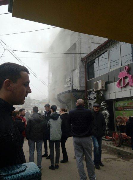 В нічному клубі у Тернополі виникла пожежа (фото) (фото) - фото 1
