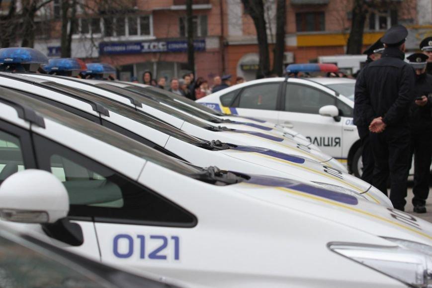 Фоторепортаж с присяги патрульной полиции в Полтаве (фото) - фото 1