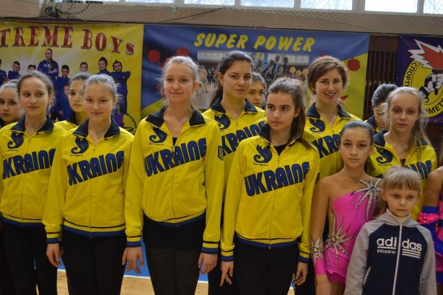 В Днепродзержинске проходит чемпионат Украины по черлидингу, фото-11