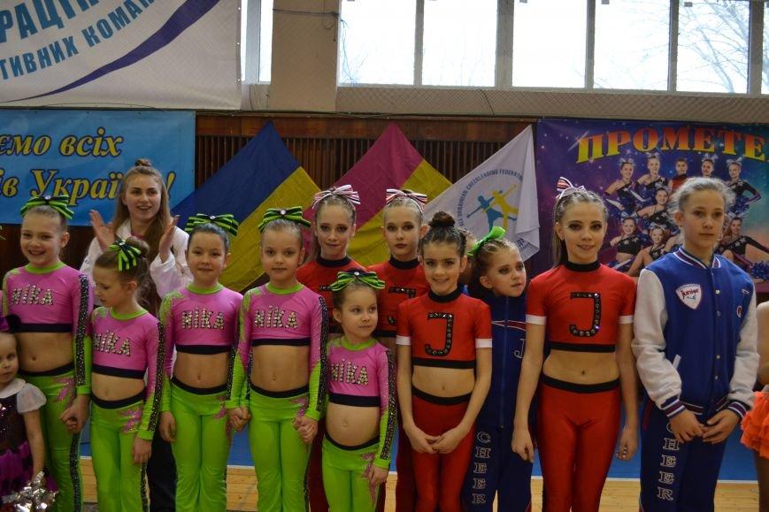 В Днепродзержинске проходит чемпионат Украины по черлидингу, фото-5