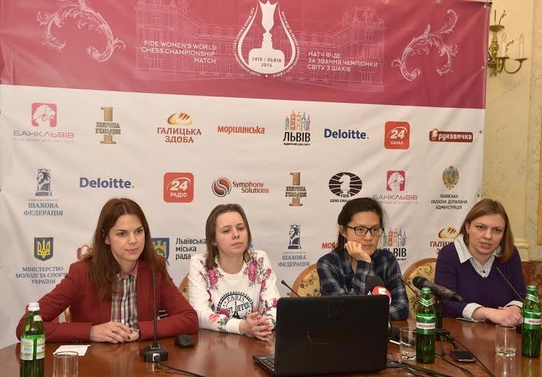 У третій шаховій партії на Чемпіонаті світу серед жінок, Музичук та Іфань розписали мирову (ФОТО), фото-2