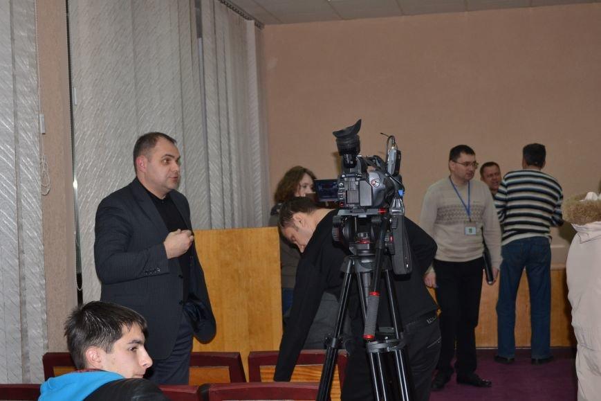 Павел Гивель призвал коллег заблокировать кабинет управделами Криворожского горсовета (ФОТО), фото-5
