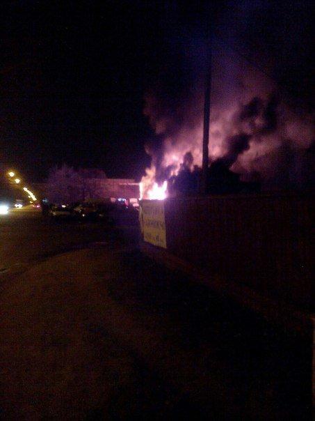 В Чернигове взорвался автопарк (фото) - фото 1