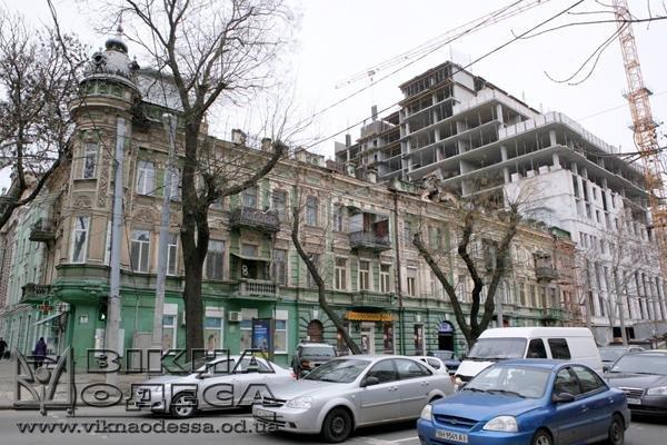 В Одессе из-за стройки проседает памятник архитектуры (ФОТО) (фото) - фото 1