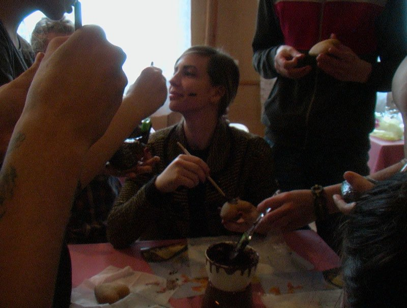 Участники Славянской лиги будущих полицейских готовили сладкие угощения для участников АТО (фото) - фото 5