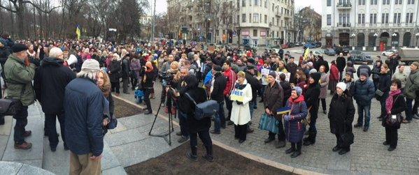 Харьковчане вышли на митинг в поддержу Надежды Савченко (ФОТО) (фото) - фото 2
