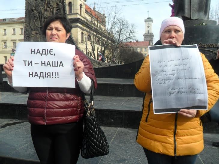"""""""Надіє, живи!"""": львів'яни вийшли на підтримку Надії Савченко (ФОТО), фото-5"""