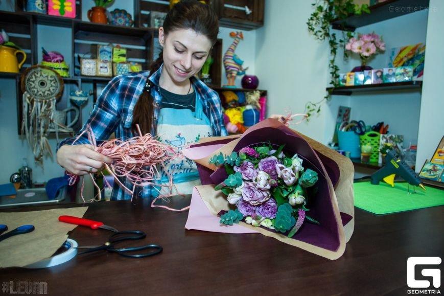 ART Шалаш - дизайнерские букеты и креативные подарки в самом центре Мариуполя (фото) - фото 1