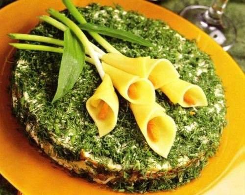 Макеевчанкам к празднику: топ-10 салатов-цветов (фото) - фото 10