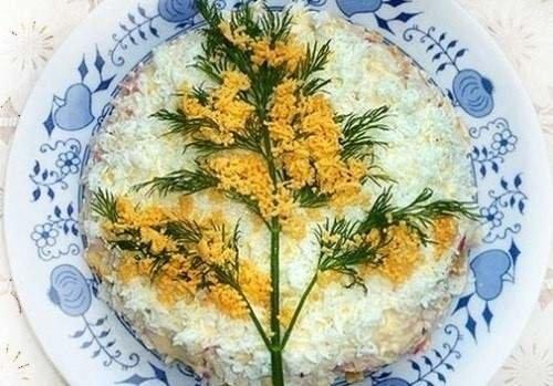 Макеевчанкам к празднику: топ-10 салатов-цветов (фото) - фото 8