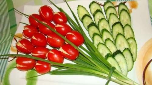 Макеевчанкам к празднику: топ-10 салатов-цветов (фото) - фото 6