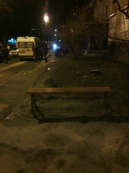 На Академика Павлова из окна выпал мужчина (ФОТО) (фото) - фото 1