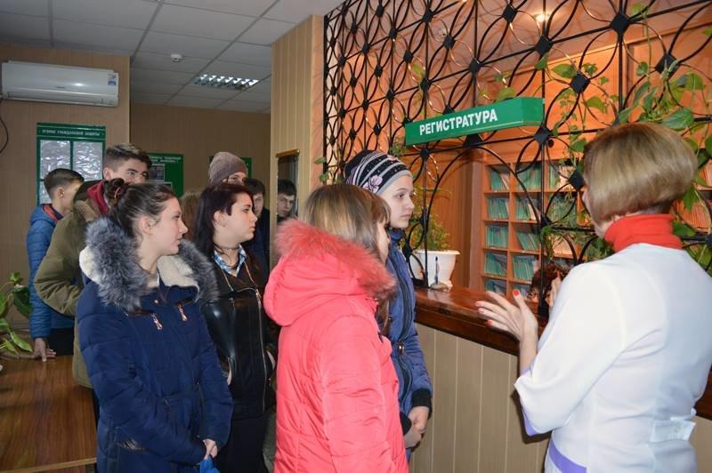 Участники «Лиги будущих полицейских» Красноармейска побывали в наркологическом диспансере, фото-1
