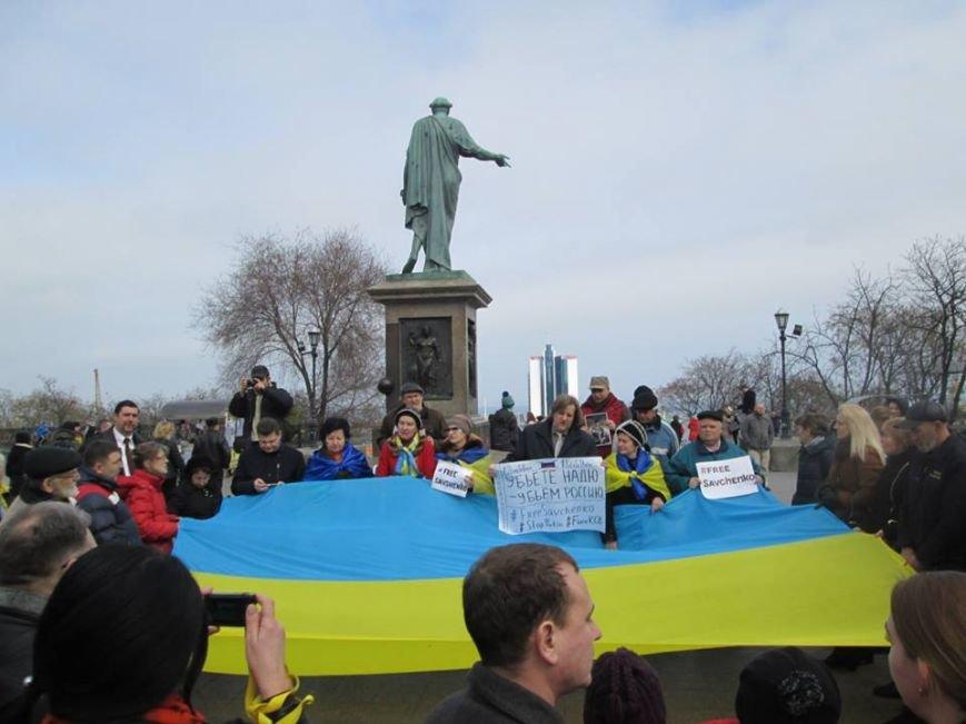 #FreeSavchenko: Одесситы пригрозили уничтожить Россию (ФОТО,ВИДЕО), фото-2