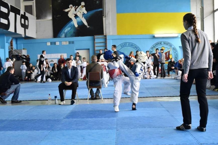 Днепродзержинские тхеквондисты провели чемпионат города (фото) - фото 1