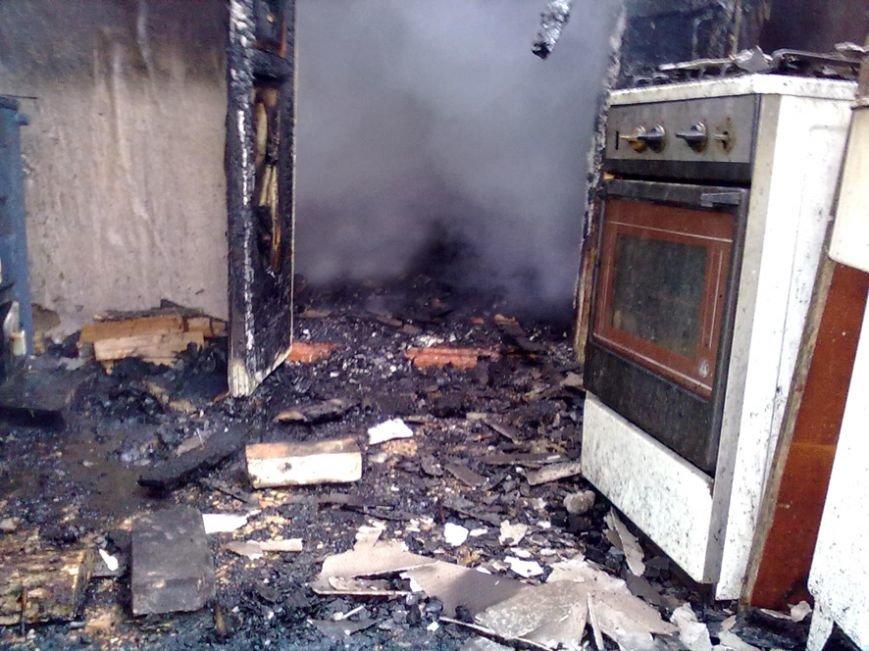 На Полтавщине в огне погибла женщина (фото) - фото 1
