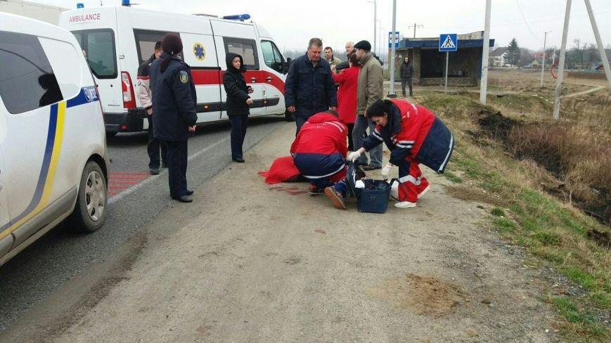 На Львівщині водій автівки збив жінку на пішохідному переході (ФОТО) (фото) - фото 1