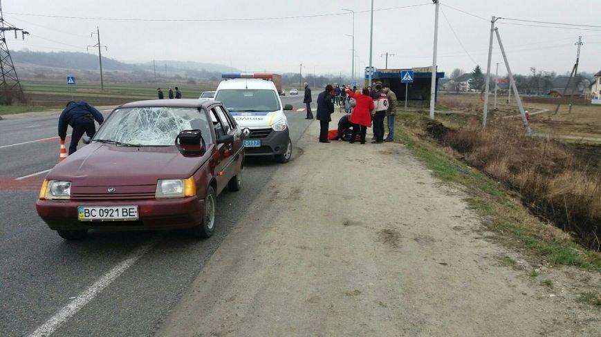 На Львівщині водій автівки збив жінку на пішохідному переході (ФОТО), фото-3