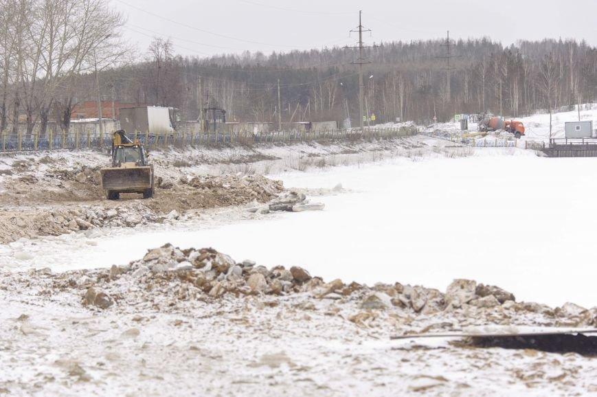 Ведутся ремонтные работы на Штанговском гидроузле Полевского (фотофакт), фото-3