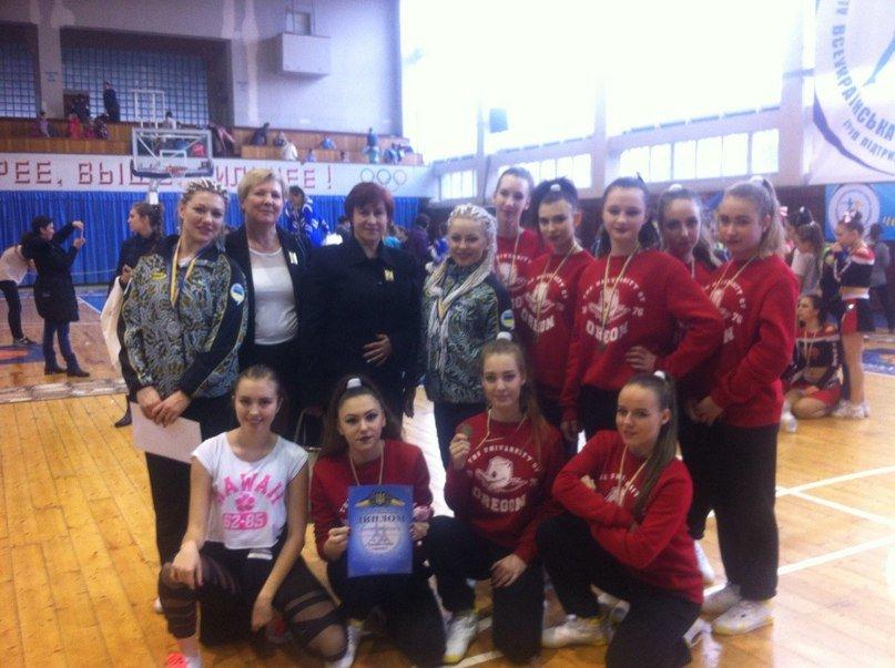 Красноармейские черлидеры показали «класс» на Чемпионате Украины (фото) - фото 1