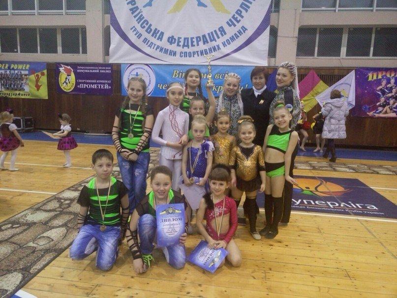Красноармейские черлидеры показали «класс» на Чемпионате Украины (фото) - фото 2