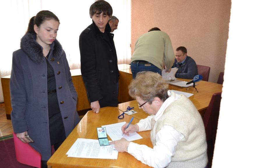 Заседание горизбиркома Кривого Рога началось с сюрприза (ФОТО), фото-7