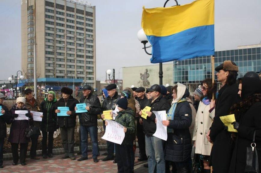 Бердянск требует освободить Надежду Савченко (фото) - фото 4