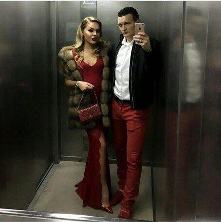 Артем Федецкий с женой