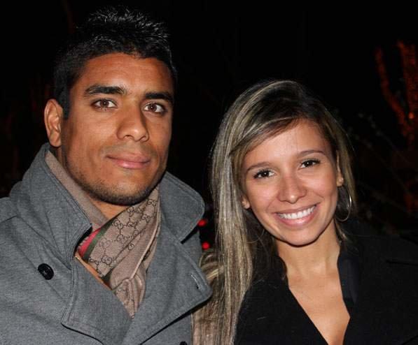Лео Матос с женой