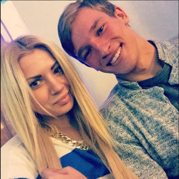 Лучкевич с девушкой Анной