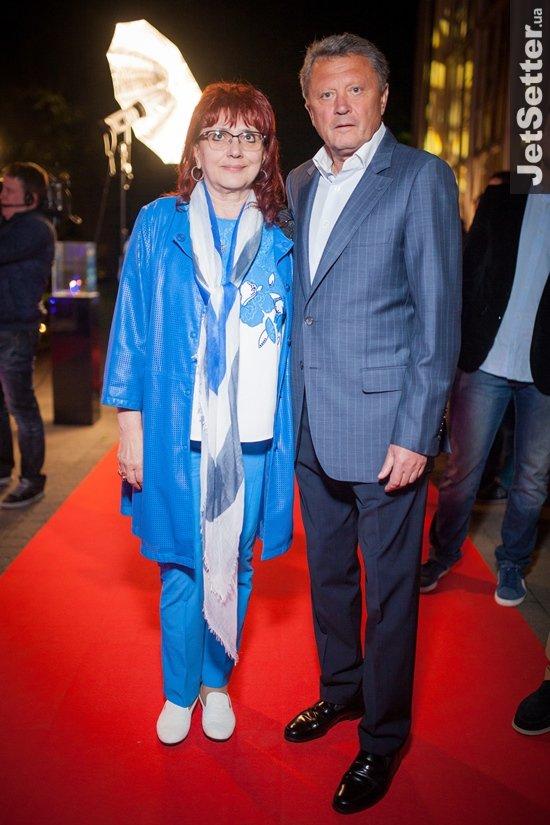 Маркевич с женой